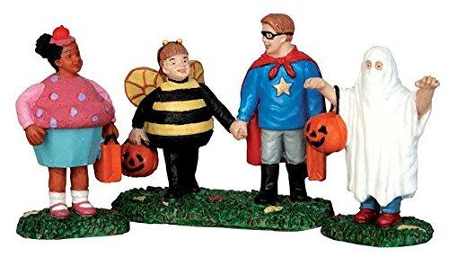 Lemax - New Trick of Treaters - 3er Set - Spooky Town - Polyresin - Figuren & Zubehör für Halloween