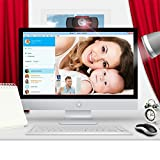 HD Webcam, M.Way 720P 1Million Pixel Full HD Web Kamera, USB Webcam, USB Kamera mit Mikrofon und USB für Skype, Facecam, Google Hangouts, Yahoo! Messenger, Youtube, PC, Laptop, kompatibel mit Windows usw. - 9