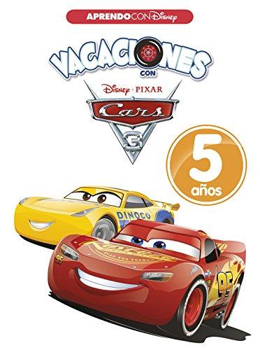 Vacaciones con Cars. 5 años (Aprendo con Disney) por Disney