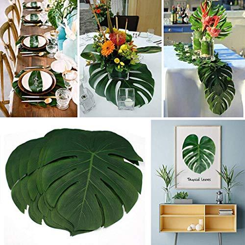 Tianya 36PCS Artificial Tropical Imitation Plant
