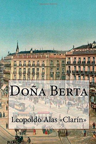 Doña Berta por Leopoldo Alas «Clarín»