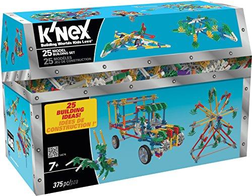 K 'nex 3387125Model Building Set–375Unidades Incluye–para niños a Partir de 7años–Diseño y de construcción de Juguete