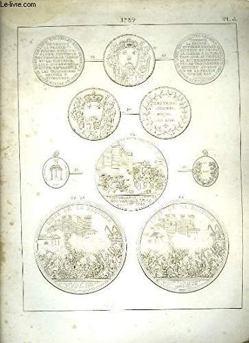 Histoire Numismatique de la Révolution Française. Planche N°3 : 1789 par HENNIN et VERAN