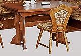 Küchentisch ausziehbarer Tisch Eßtisch Eiche rustikal P43 - 2187