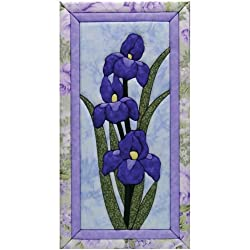Quilt Magic 10 X 19-inch Iris Kit