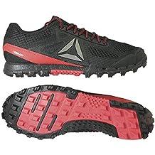 Reebok All Terrain Super 3.0 Obstacle Run Shoe Black   Red Size   44.5 bbd90f6ed