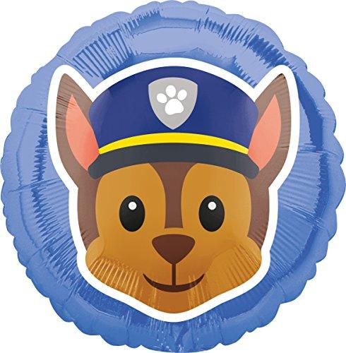 Amscan 3636701 Folienballon Paw Patrol, Blau