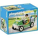 Playmobil - 5437 - Figurine - Gardien Du Camping Et Véhicule De Service