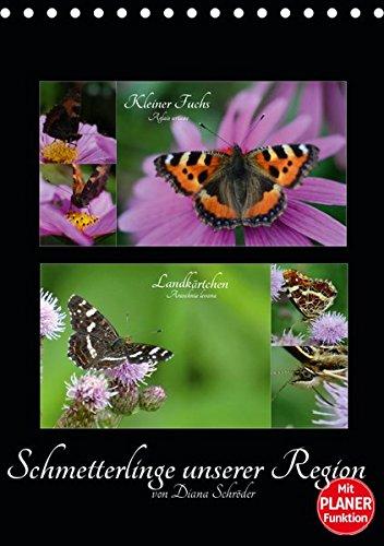 Schmetterlinge unserer Region (Tischkalender 2019 DIN A5 hoch): Das perfekte Geschenk für jeden Schmetterlings-Liebhaber. (Familienplaner, 14 Seiten ) (CALVENDO Tiere)