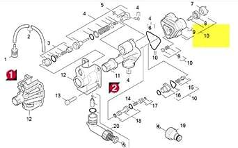 karcher kit pieces de rechange culasse cylindre 90011050 gros lectrom nager. Black Bedroom Furniture Sets. Home Design Ideas