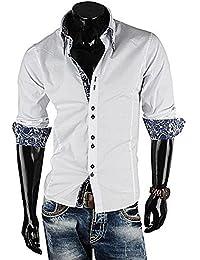 Brandneu !!! Designer Hemd von CARISMA in Weiß uni CRM8173