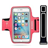 iPhone 7 Armband | SmashTerminator® Sport Armband for iPhone iPhone 7 | Perfect for Running, Jogging, Walking, Hiking, Workout & Exercise | Sweat-Free High-Quality Premium construction with Headphone and Key Slots Plus extra Strap | 18-Month Warranty