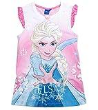 Frozen Kollektion 2017 Nachthemd Die Eiskönigin 98 104 110 116 122 128 Neu Nachtkleid Nachtrobe Disney ELSA Rosa (122-128, Rosa)