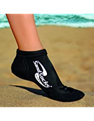 Sand Socks Sprites–Calcetines para hombre, Hombre, color negro, tamaño FR : 44-46 (Taille Fabricant : L)