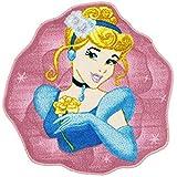 Monbeautapis Disney Cinderella Prinzessin Kinder Teppich 67x 67cm für heimeliges: Kinder