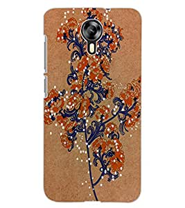 ColourCraft Lovely Flower Art Design Back Case Cover for MICROMAX CANVAS XPRESS 2 E313