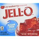 Jello Strawberry sans Sucre 8,5 g