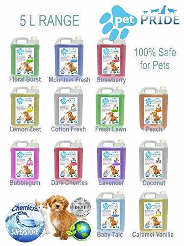 Botella Aerosol Fresh Linen Shrink-Proof Collection Here 5l Fresco Mascota Jaula Desinfectante