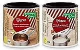 Veganz BIO Grundsauce Dunkel + Hell Probierset ✔ Vegane Basis Saucen für Feinschmecker Saucen Rezepte ✔ Soßen Vegan 2 x 140g