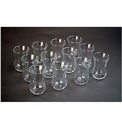 """Pasabahce Türkische Teegläser Teeglas Tee Glas """"Optik"""" 12er-Set"""