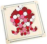 Hape - Kit mosaico con diseño de pulpo, juego creativo (0HPE5114)
