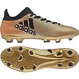 adidas X 17.3 FG, Herren Fußballschuhe, Gold (Tagome/Cblack/Solred Tagome/Cblack/Solred),  44 2/3 EU