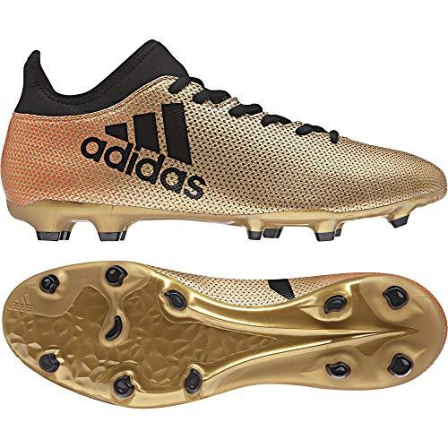 best sneakers 72058 7191d adidas X 17.3 FG, Scarpe da Calcio Uomo, Oro Gold Schwarz Rot