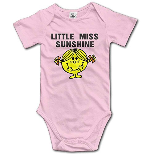 (Unisex Baby Baby Girlsl Little Miss Sunshine Short-Sleeve Sport Bodysuits)