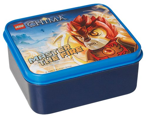 LEGO Licensed 40501720 Collection – Legends of Chima with Laval Lunch Box (Blue)
