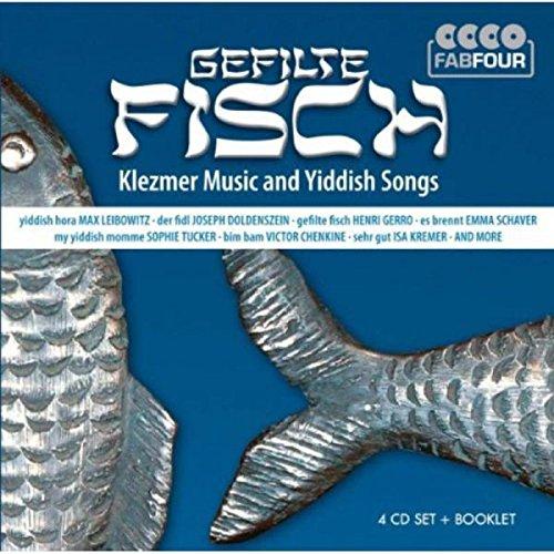 Preisvergleich Produktbild Gefilte Fisch - Klezmer Music and Yiddish Songs (4 CD FabFour)