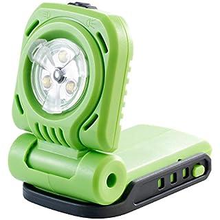 AGT Professional Arbeitsleuchte: Akku-LED-Baulampe AW-18.bl, 300 lm, klappbar, 18 V (ohne Akku) (LED Handstrahler)