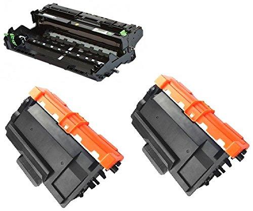 Preisvergleich Produktbild Trommeleinheit DR-3400 & 2x Toner TN-3400 für Brother DCP-L5500DN DCP-L6600DW HL-L5000D HL-L5100DN HL-L5100DNT HL-L5100DNTT HL-L5200DW HL-L5200DWT HL-L6250DN HL-L6300DW HL-L6300DWT HL-L6400DW HL-L6400DWT HL-L6400DWTT MFC-L5700DN MFC-L5750DW MFC-L6800DW MFC-L6800DWT MFC-L6900DW MFC-L6900DWT - Schwarz, hohe Kapazität