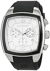 Pierre Cardin Herren-Armbanduhr Général Chronograph Quarz Kautschuk Swiss Made