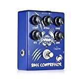 Festnight Caline CP-45 Bass Kompressor Bass Effektpedal Aluminiumlegierung mit...