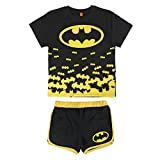 Batman - Conjunto Pijama Manga Corta 2 piezas 100% algodón (5 años)