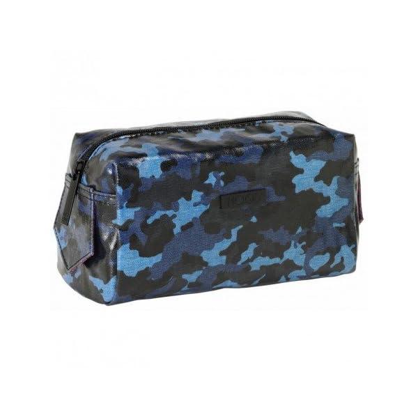MOOS- Neceser Color Azul, Negro, 19 cm (SAFTA 861638769)