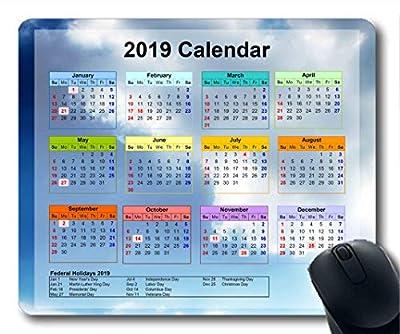 Yanteng Alfombrillas de ratón Calendario 2020 190108-001 de Yanteng