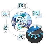 atFoliX Schutzfolie für AsiaLong HR 4 Folie - 3 x FX-Curved-Clear Flexible Displayschutzfolie für gewölbte Displays