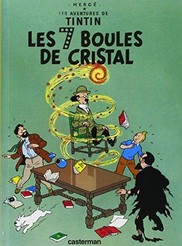 Les Aventures de Tintin, Tome 13 : Les 7 boules de cristal : Mini-album par Herge