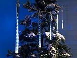 60 LED Lichterkette mit Schneefalleffekt