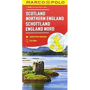 Scozia, Inghilterra Del Nord 1:300.000