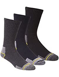 Zest Mens Work Boot Socks with Cushioned Sole