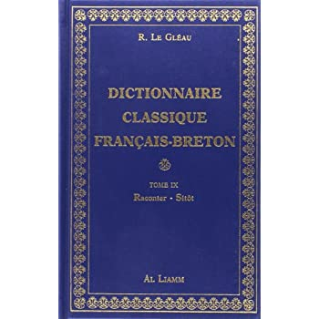 Dictionnaire classique Français - Breton, volume 9