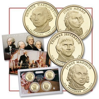 2007 US Presidential Dollar Proof Set by United States Mint
