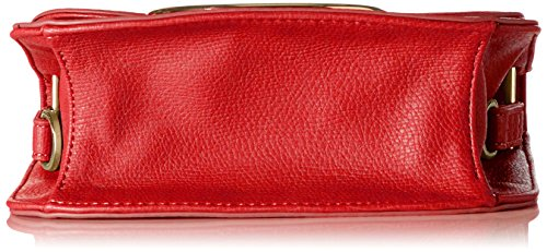 Liu Jo Jeans - Maincy Flap, Borse a tracolla Donna Rosso (Mars Red)