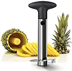 Clomana Pineapple Cutter Stainless Steel Fruit Cutters