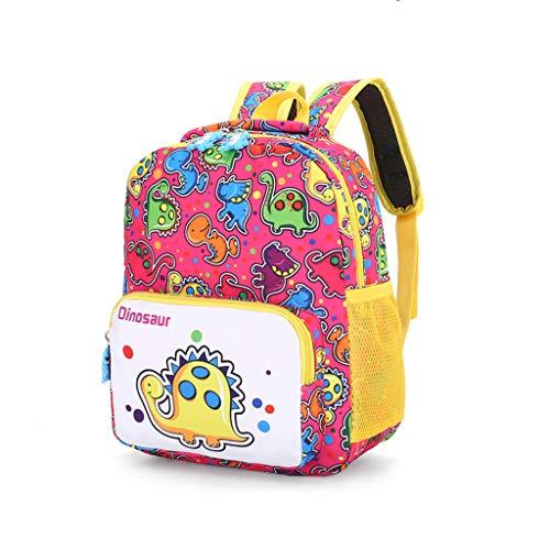 Kostüm Mädchen Batgirl Rosa - EVAEVA-bags Kinder Kinderrucksack mit Dinosaurier drucken Rucksäcke Kinder Und Mädchen | Kinder Rucksack Kindergarten | Schultasche Für Kinder | Kinderrucksack Kleinkinder (Rosa)