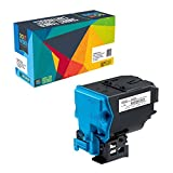 Doitwiser ® Compatible Cyan Toner Cartridge For Konica Minolta Magicolor 4750 4750EN 4750DN - A0X5450 (High Yield 6,000 Pages)