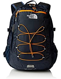 The North Face Borealis, Zaino Unisex, Blu/Arancione, Taglia unica