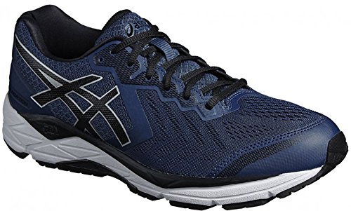 Asics Herren Gel-Foundation® 13 (4E) Schuhe, 48 4E EU, Dark Blue/Black/White